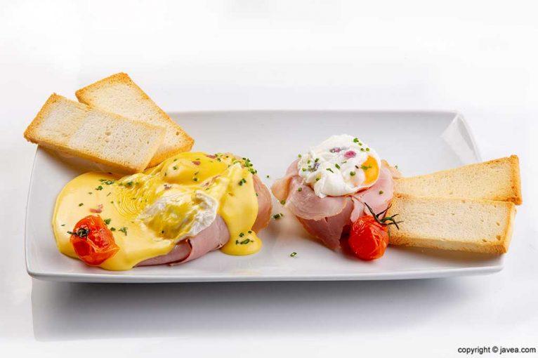 Huevos Gallinas Felices Restaurante-noray