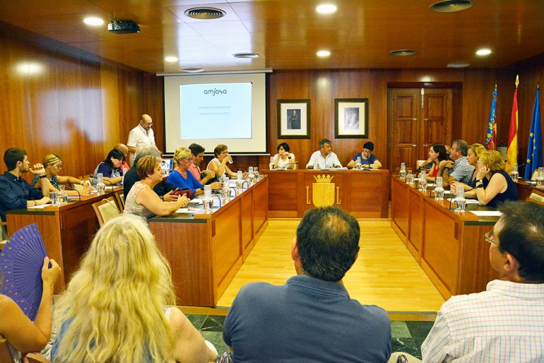 Reunión de la Junta General de Amjasa