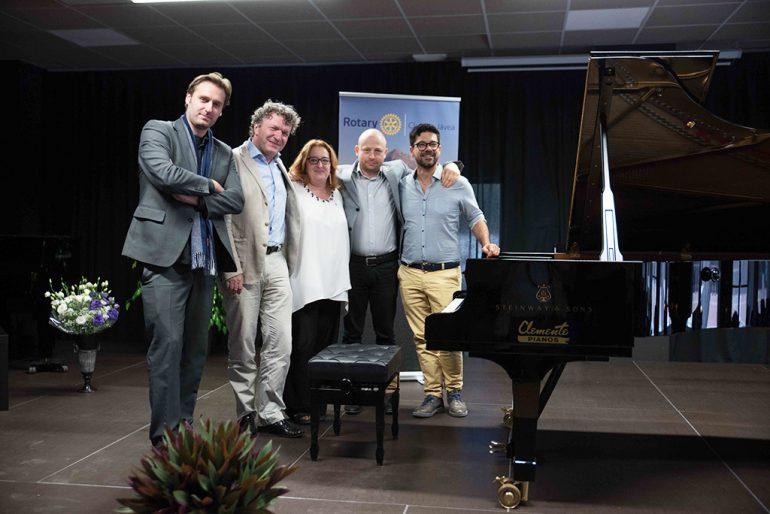 Jurado del Concurso Internacional de Piano de Xàbia