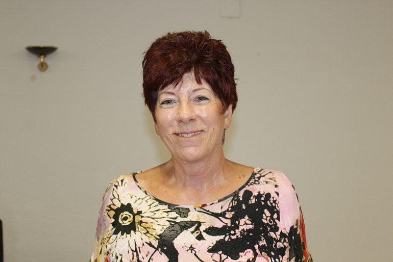La residente Anita Lutz