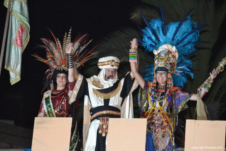 Los moros celebran la conquista de Xàbia
