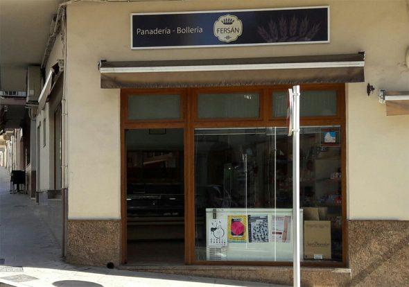 Panadería Fersán fachada