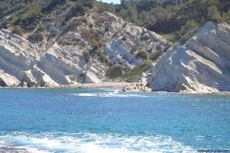 Pequeña Cala del Francés en Xàbia