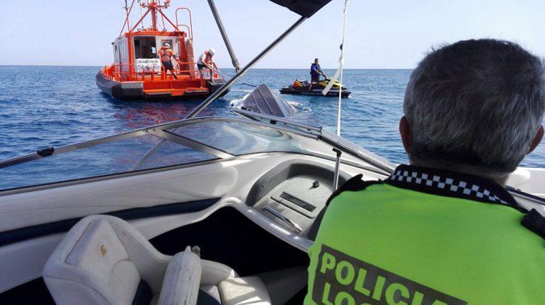 Rescate de la embarcación