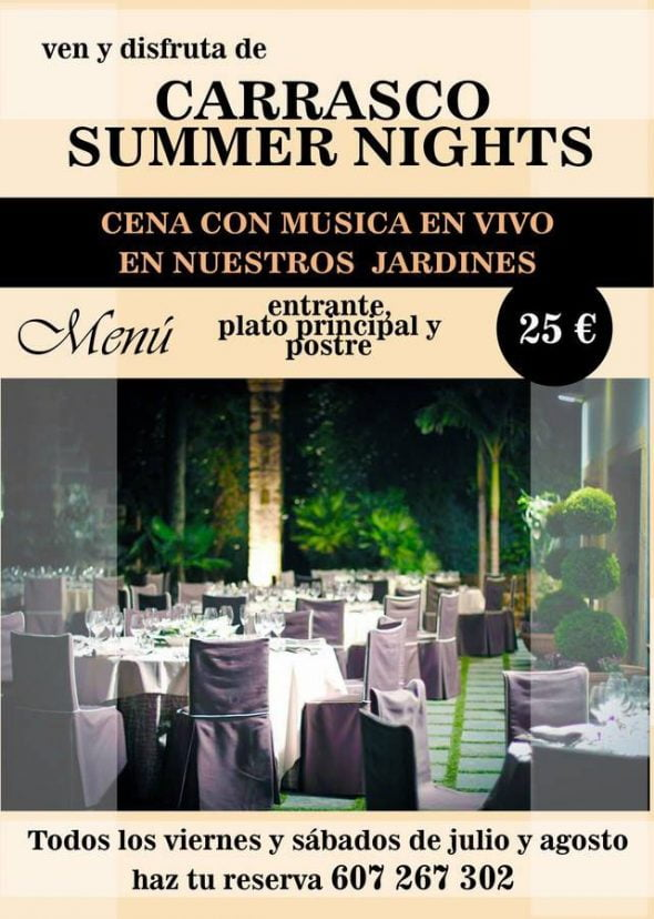 Salons Carrasco Summer Nigths