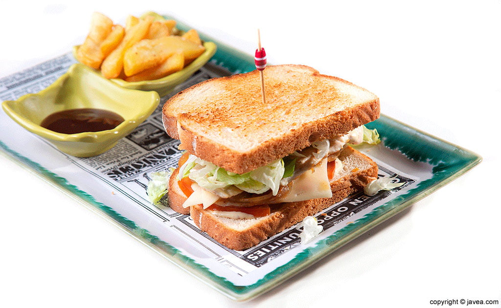 Sandwich El Raconet
