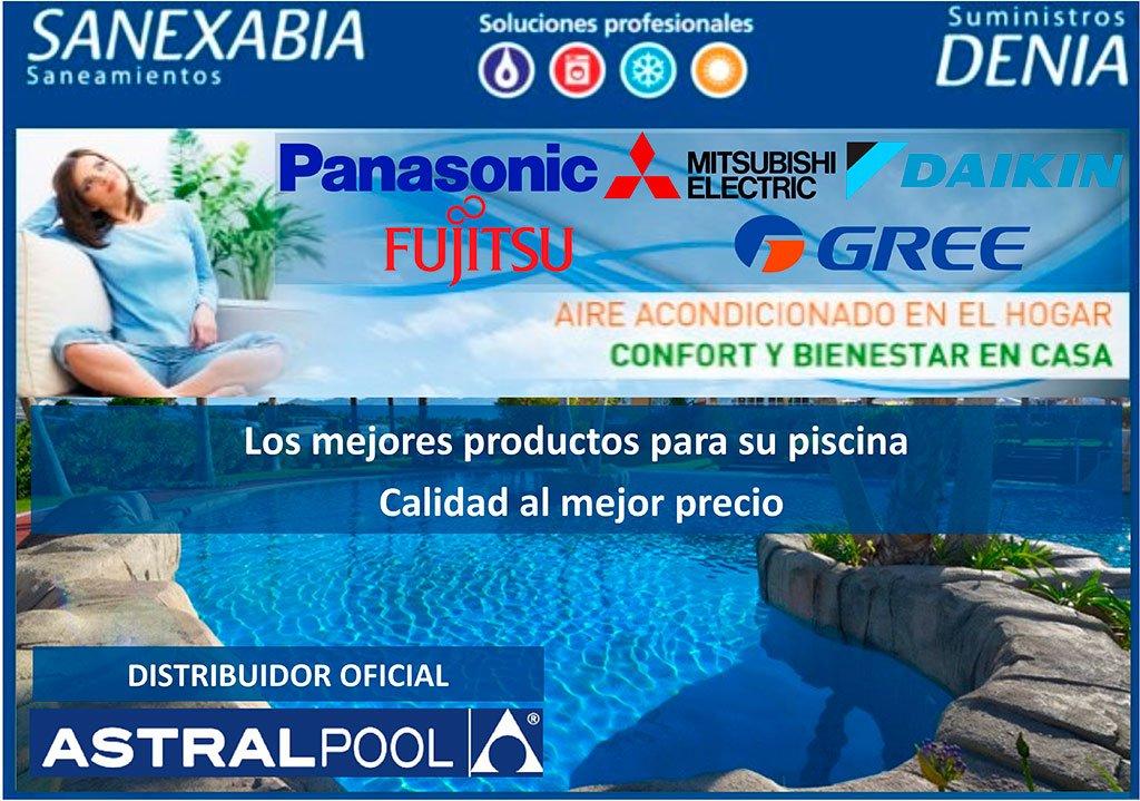 Suministros d nia y sanexabia aires acondicionados j vea for Suministros para piscinas