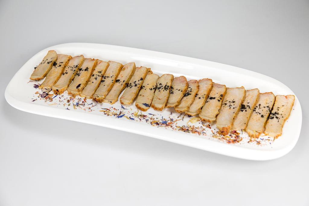 Tataki de lomo de Orza Restaurante Noray