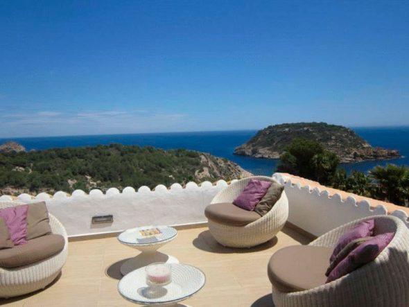 Terraza con increíbles vistas Casa Nova Villas