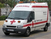 ambulancia Xàbia