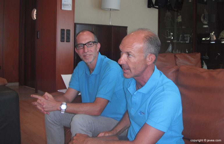 Arturo Miquel y Vicent Colomer