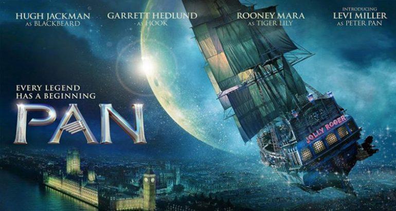 Cartel de la película Pan  Viaje a Nunca Jamás