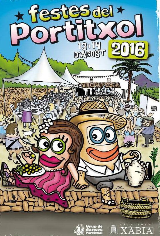 Cartell Festes del Portitxol 2016
