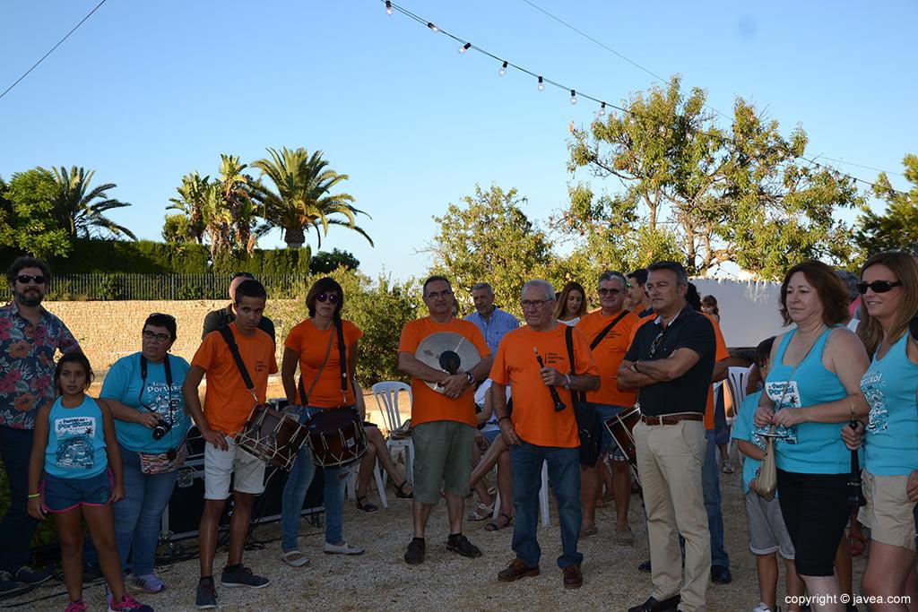 L'alcalde de Xàbia va participar en les Festes del Portitxol