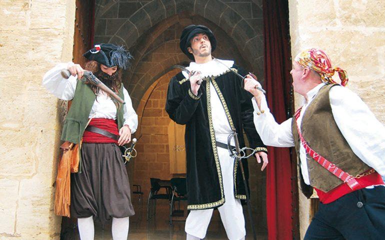 Actores de la ruta El Tesodor de Xàbia