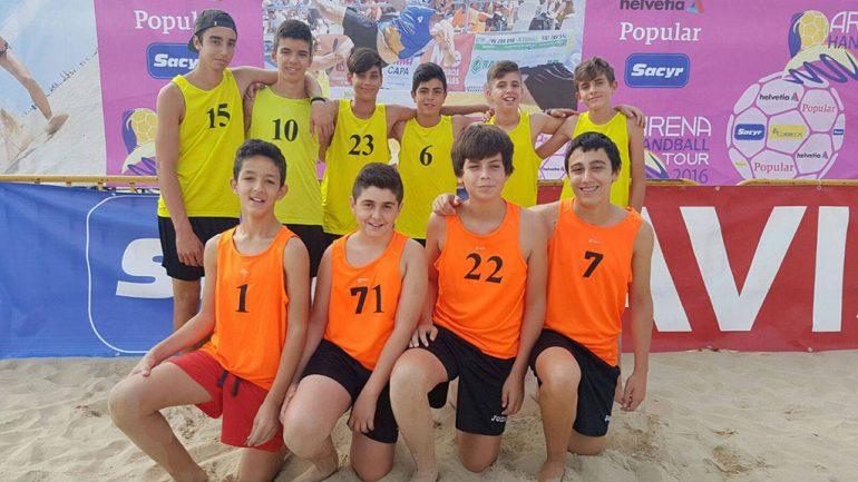 Equipo Infantil Masculino del Club Handbol Xàbia