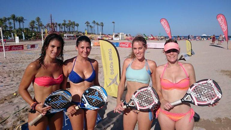 Finalistas femeninas del torneo amateur