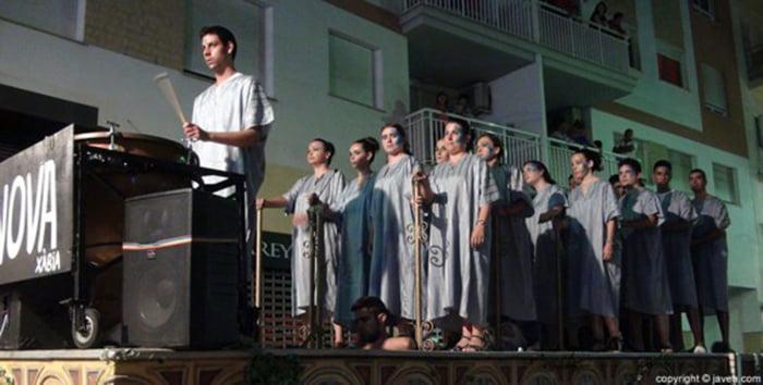 Grup Polifònic Ars Nova durante una actuación