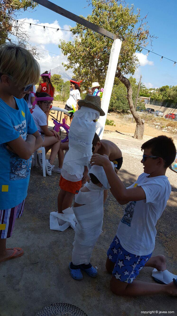 Jocs tradicionals en Festes del Portitxol
