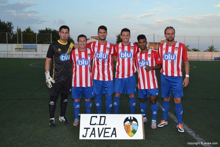 Las nuevas caras del CD Jávea