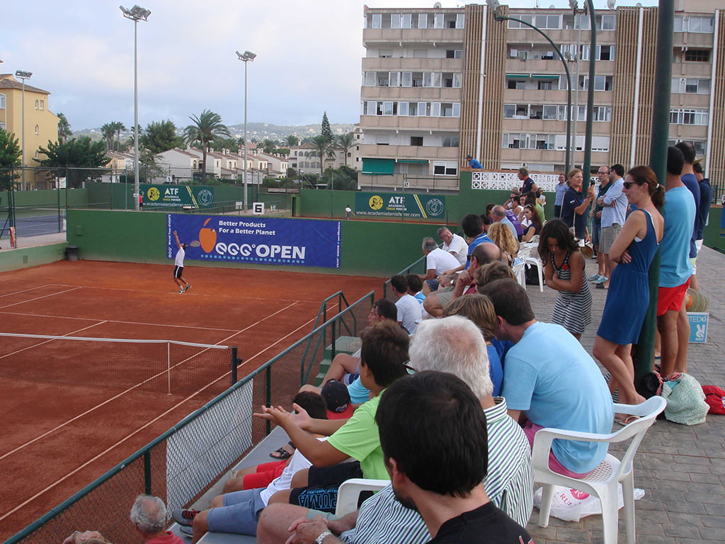 Lleno absoluto en la final de tenis