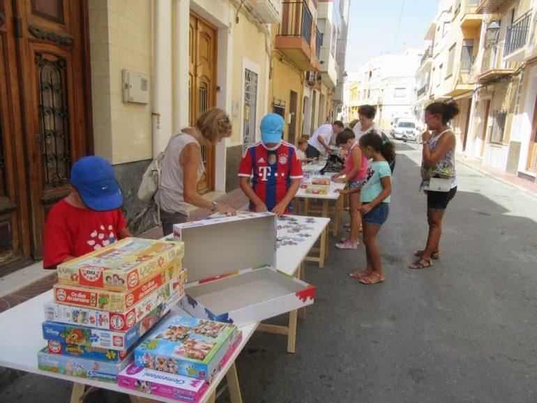 Mucha participación en la jornada de puzles en Benitatxell
