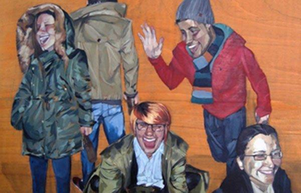 Obra de la exposición de Borja-Ibáñez