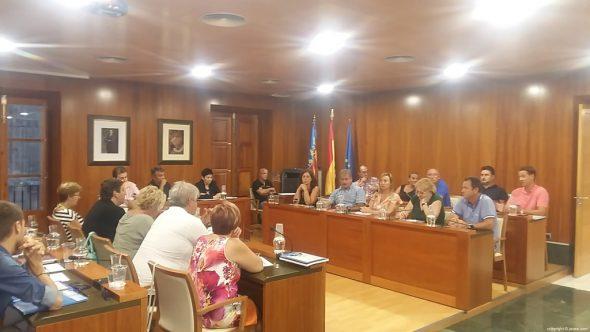 Pleno mes de agosto en Xàbia