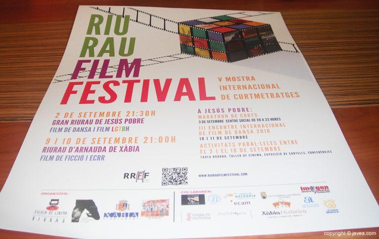 Cartell del Riu Rau Film Festival