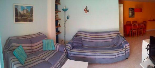 Salón de la casa en alquiler CasaNova Villas