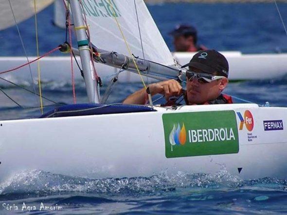 Rafael Andarias, regatista paraolímpico