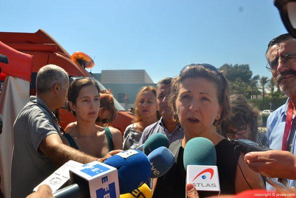 Consellera de Medio Ambiente, Elena Cebrián