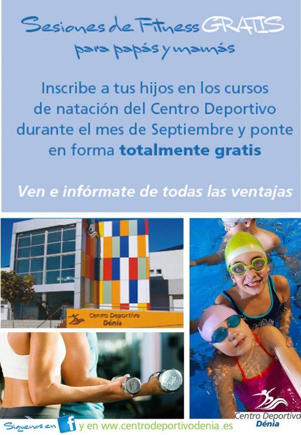 Fitness gratis Centro Deportivo Dénia