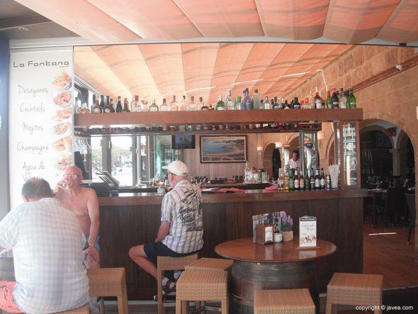 Interior del Restaurante La Fontana