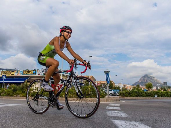 Irene Bolufer, atleta de Xàbia