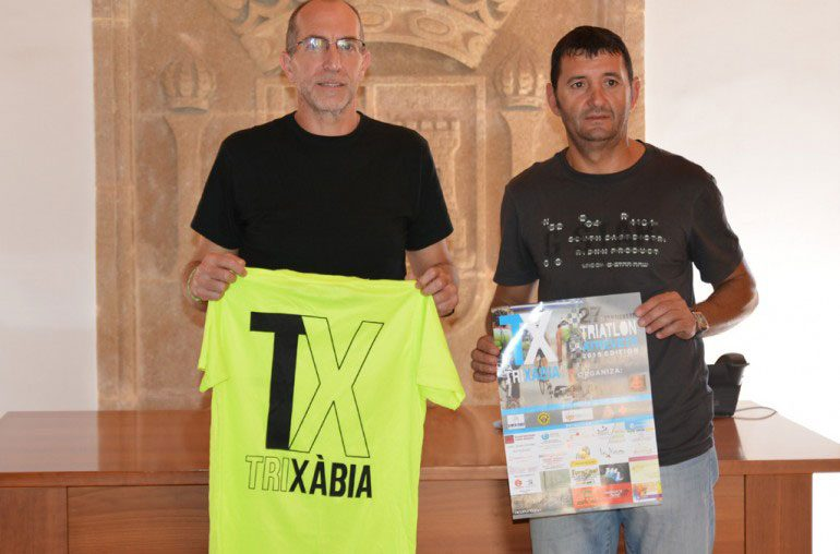 Jaume Escortell junto a Vicent Colomer