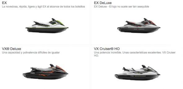 Nuevas motos de agua 2017 Recreacional Yamaha