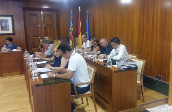 Portavoces y concejales del equipo de gobierno