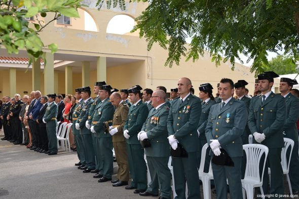 Acto de la Guardia Civil