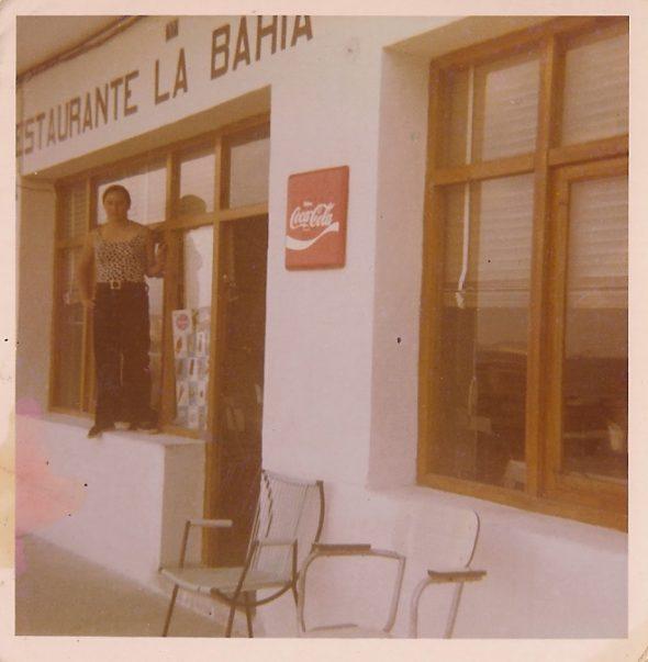 El restaurante Bahia en los años 70