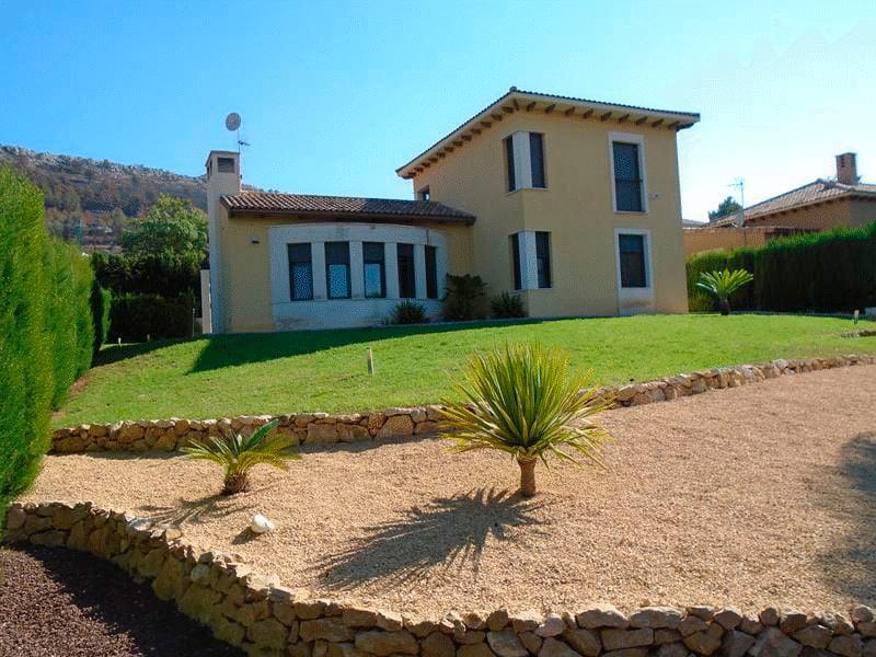 Fachada de la casa – Casa Nova Villas