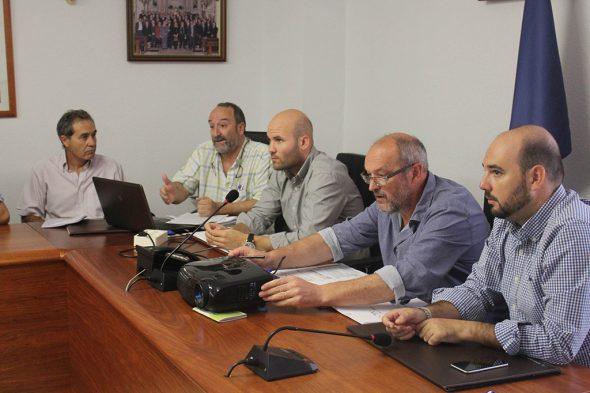 Reunión del Consorcio de agua Teulada-Benitatxell