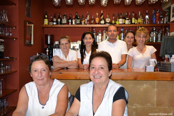 Equipo del Restaurante Bahía