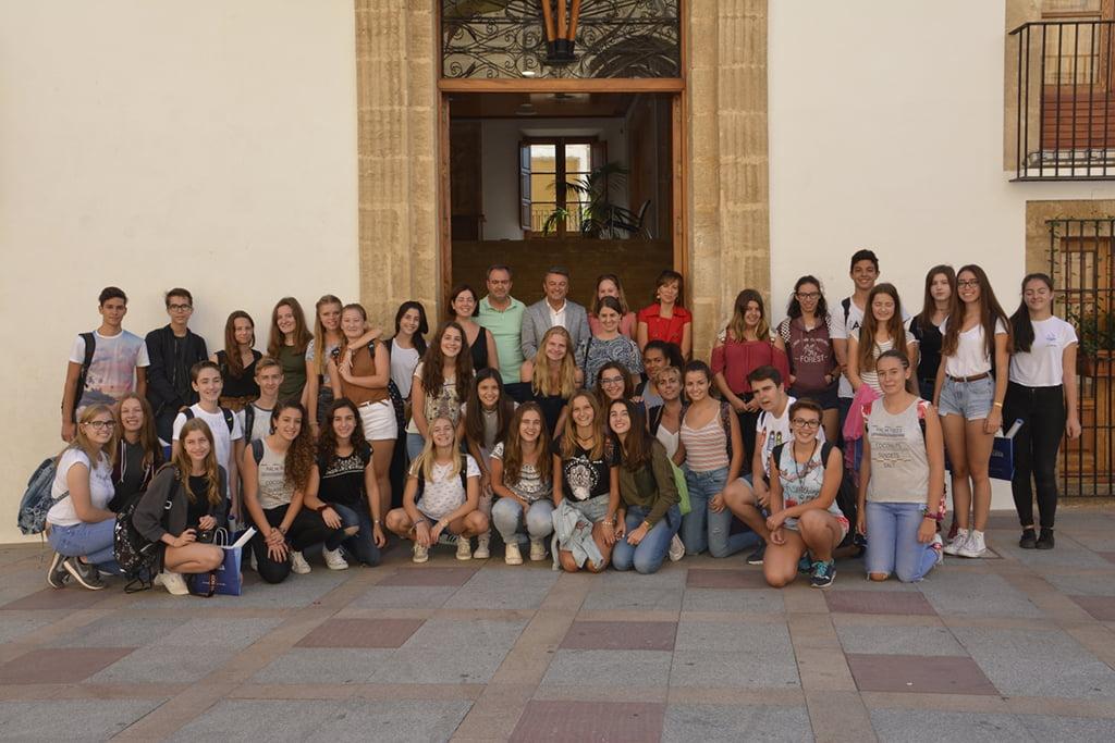 Estudiantes alemanes visitan Xàbia