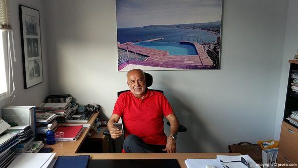 Marcos Gisbert, gerente de Gunitec