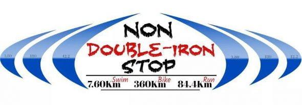 Doble Iron man Solidario 'Non stop'
