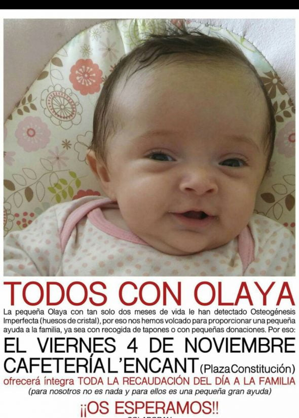 La pequeña Olaya
