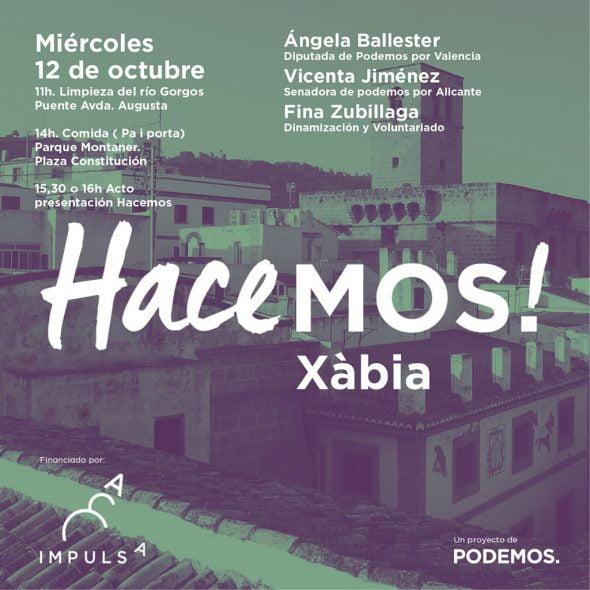 Presentación del proyecto Impulsa de Podemos