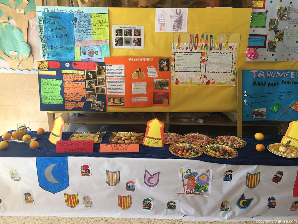 Celebración 9 octubre en los colegios de Xàbia
