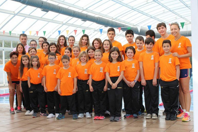 Alumnos Escuela de Natación